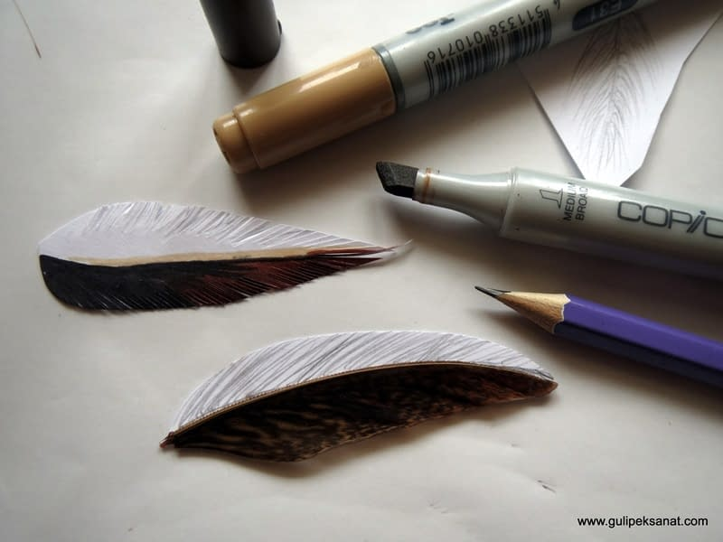 Eagle drawing By Gül ipek (feather )